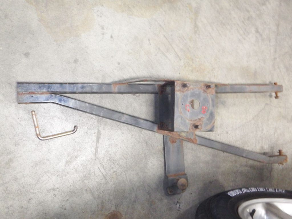 Jeep CJ Tire Carrier CJ-5 CJ-7 CJ-8 CJ5 CJ7 CJ8 Image