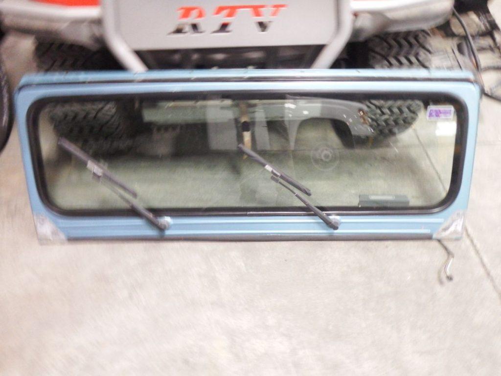 Jeep Wrangler YJ Windshield Frame Good Glass Wipers 200 Aqua pqe Image