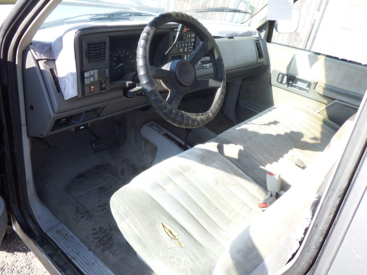 1992 GMC K1500 4×4 Long Bed Regular Cab