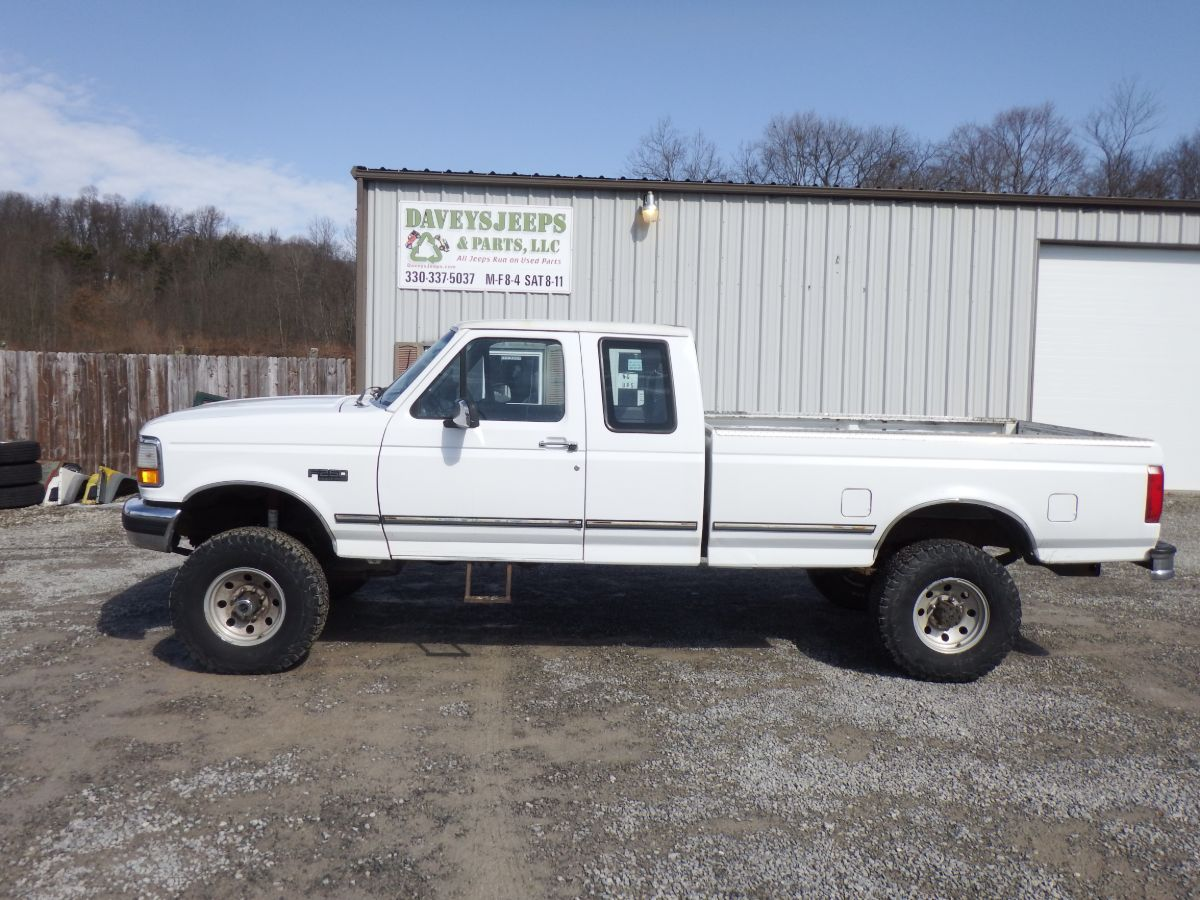 1997 Ford F-250 HD Extended Cab Long Bed 4×4