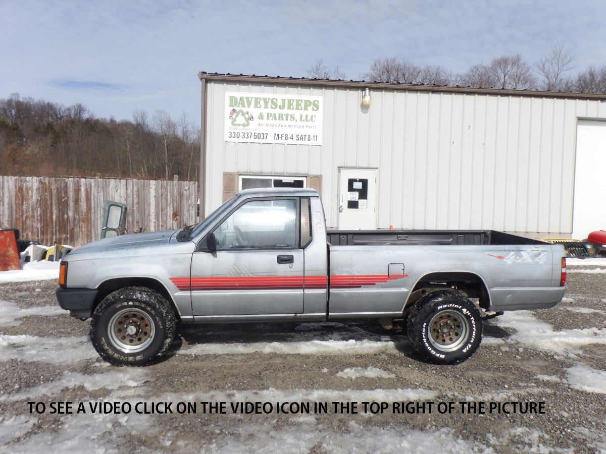 1987 Dodge Ram 50 4×4 Long Bed Truck
