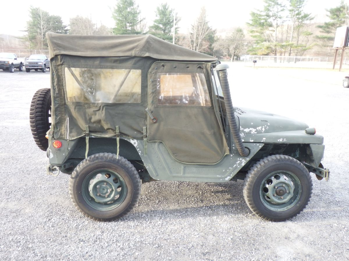 1963 AMC M422A1 1/4 Ton Military Mighty Mite Utility Light Weight Truck 4×4