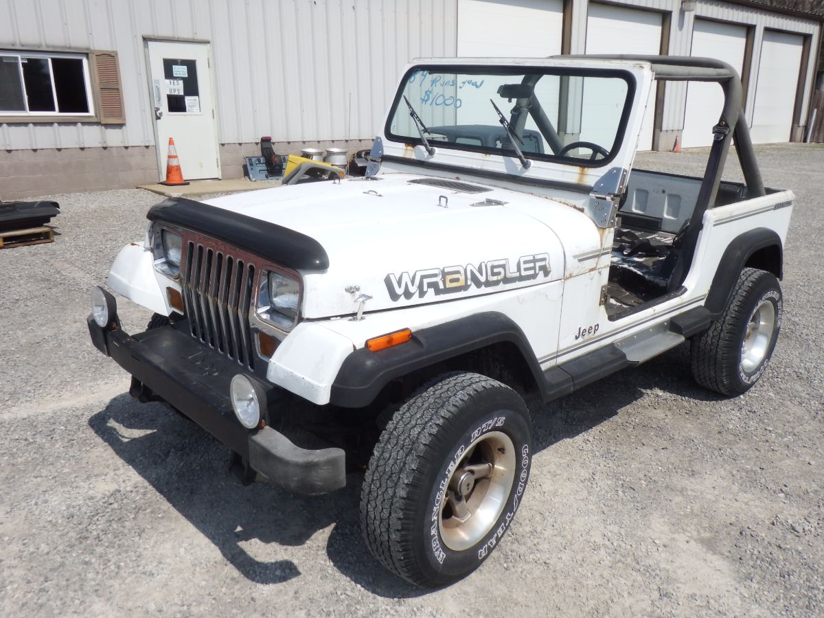 1989 Jeep Wrangler 4×4 YJ