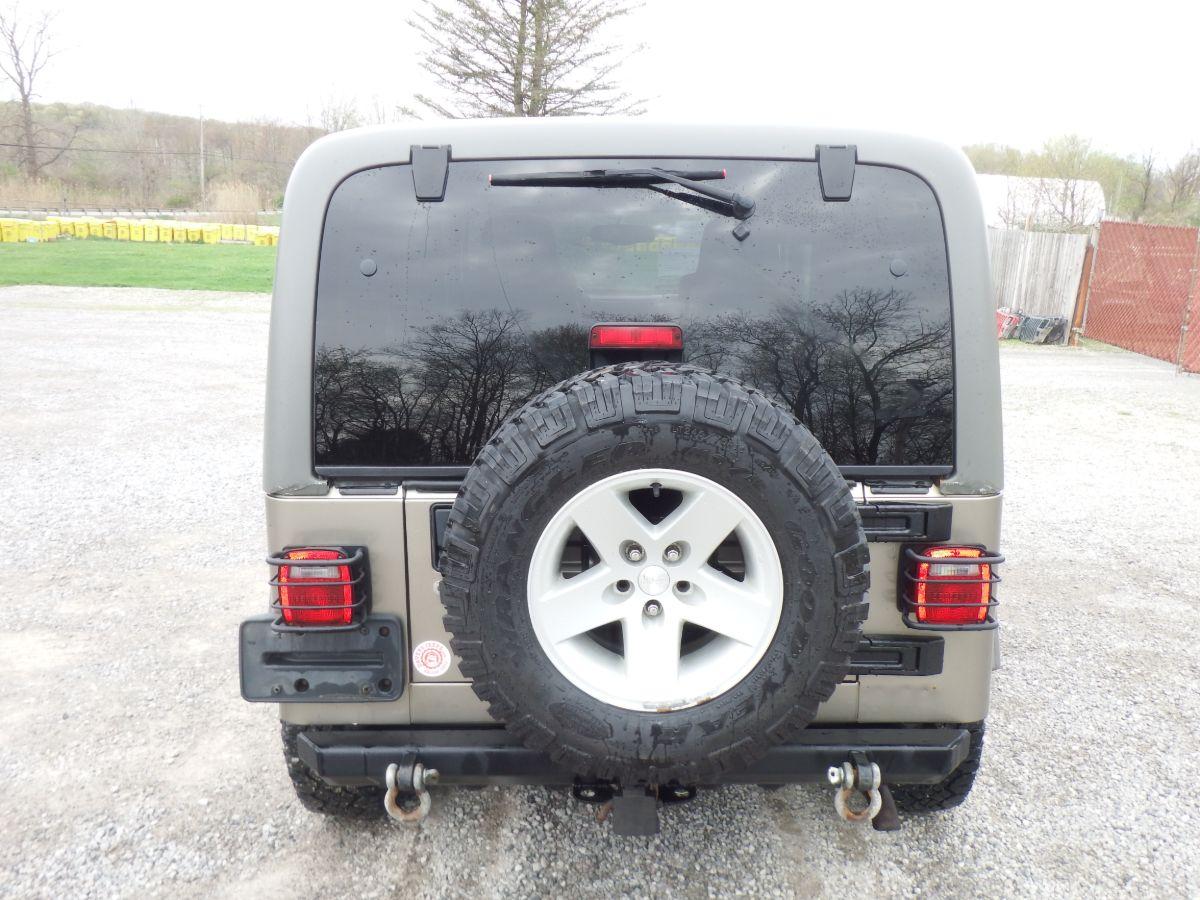 2005 Jeep Wrangler Unlimited Rubicon Texas Sahara Edition 4×4