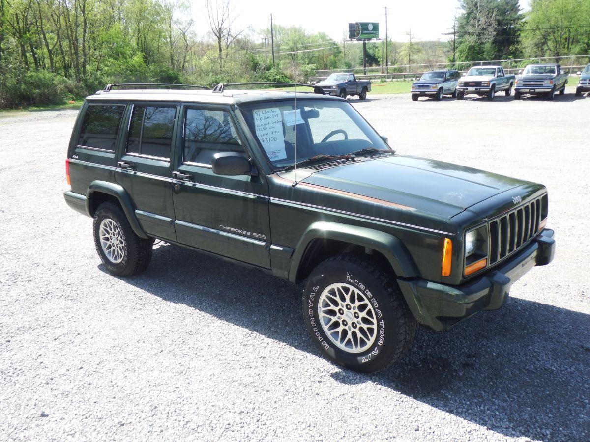 1997 Jeep Cherokee Country 4×4 XJ