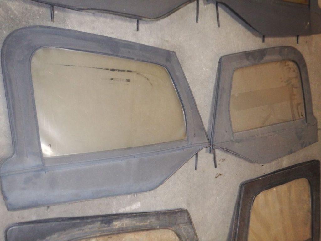 Pair 97-06 Jeep Wrangler TJ LJ Half Door Upper Window Frames 50 2 Image