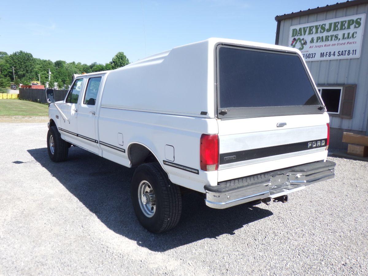 1993 Ford F-350 XLT Crew Cab 4×4 Long Bed Diesel