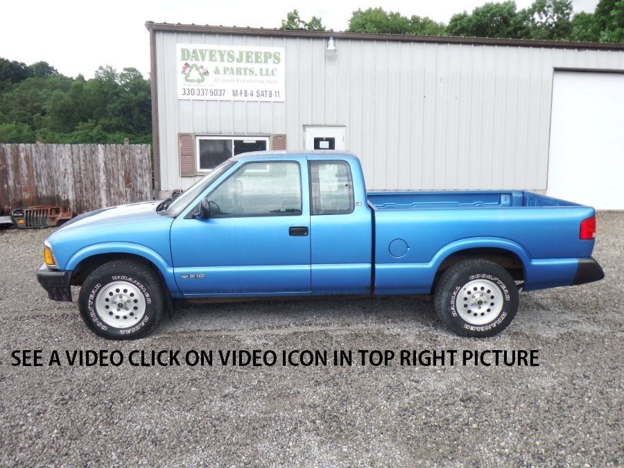 1995 Chevy S-10 Extended Cab 4×4