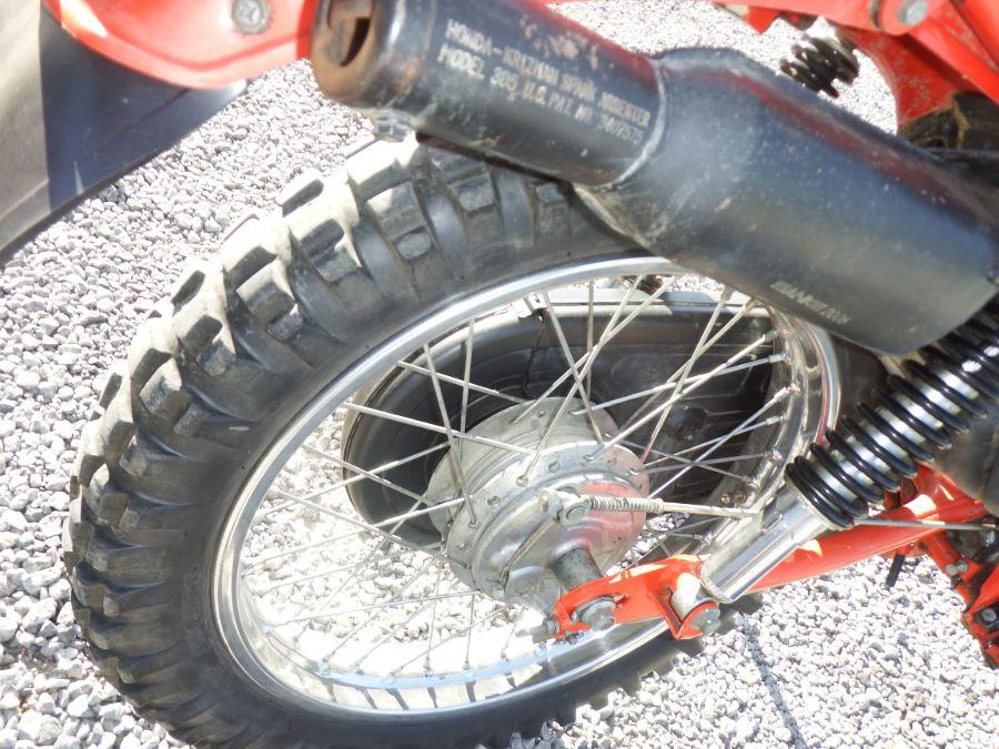 1977 Honda CT 125 Trail Bike Motorcycle