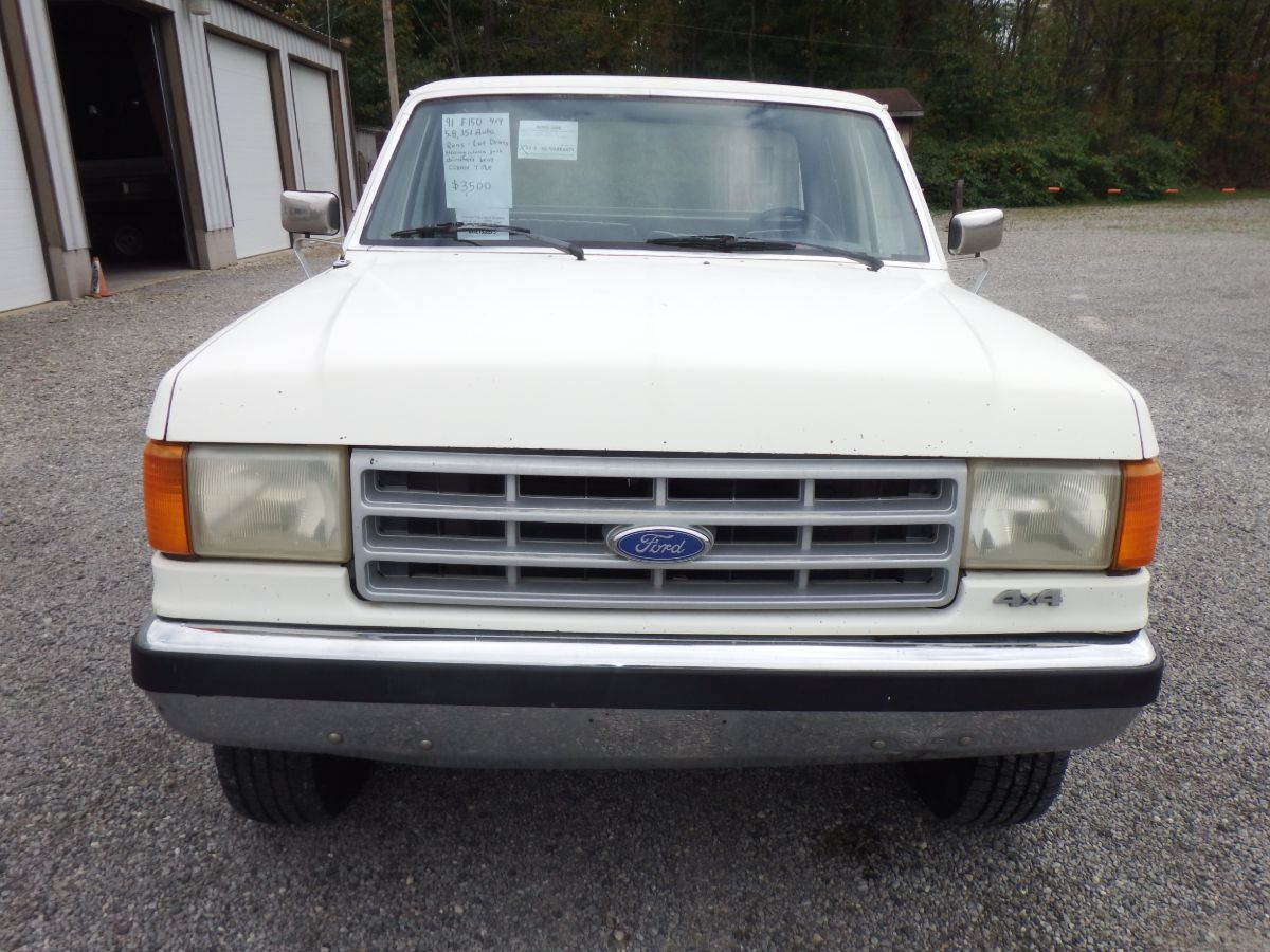 1991 Ford F-150 Extended Cab Short Bed 4×4
